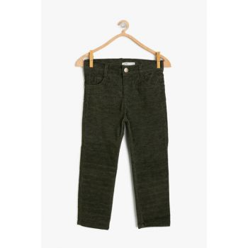 Green Boy Pocket Trousers 9KKB46682OW