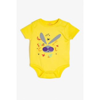 Yellow Baby Boy Printed Zibin 9YNB10321ZK