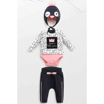 Wogi Baby Girl Badi Pants Hat Set of 3 3-18 Months 5380 WG5380
