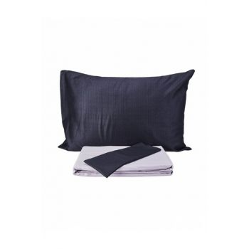Outlet Double Satin Pillowcase Bed Sheet Set 200.55.01.0352