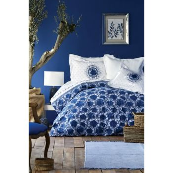Mag Belina Blue Rnf Double Linens Set 201.14.01.0005