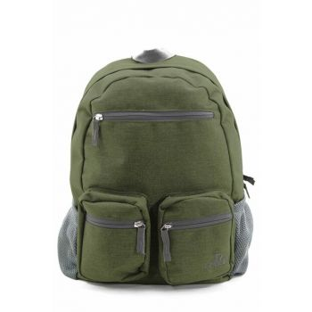 Green Unisex Backpack 8593-Cloth 8593-CLOTH