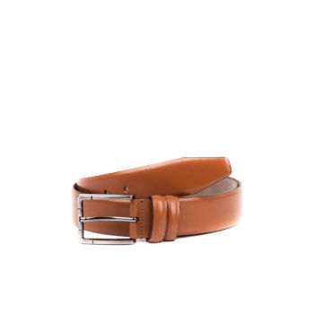 Genuine Leather Taba Men Belt KM 02 R33 TABACCO SCOTCH