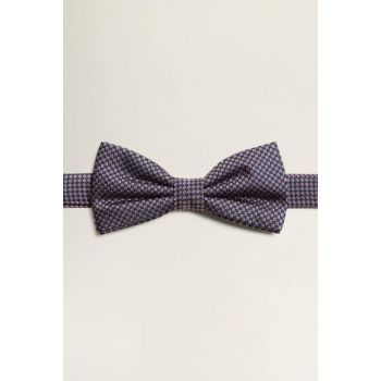 Men's Burgundy Jacquard Silk Bow Tie 53050851