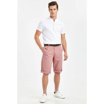 Men's Rose Dry Bermuda Shorts and Belt 9S7504Z8