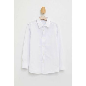 White Boy Long Sleeve Shirt K9449A6.19AU.WT34