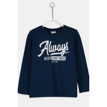 Boys' Navy Blue Jc7 T-Shirt