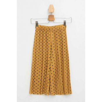 Yellow Polka Dot Relax Fit Pants K8152A6.19SM.YL17