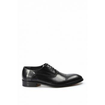 Genuine Leather Black Men Classic Shoes 1849977