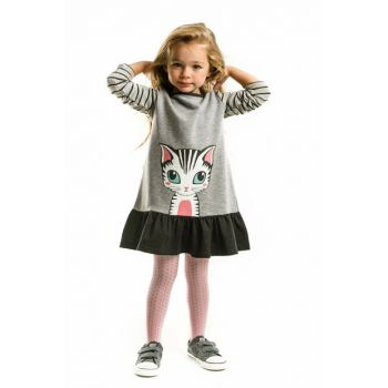 Lady Cat Dress CFF-18S1-175