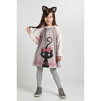 Love Cats Girl Dress CFF-19S1-119