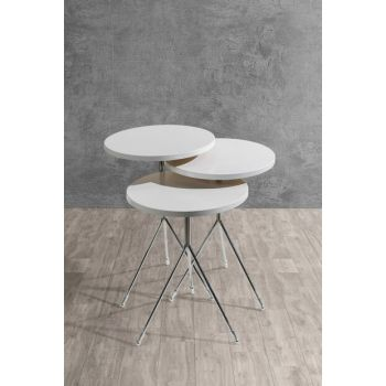 roiz zigon coffee table roiz - white