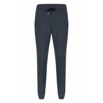 Men's Indigo Binding Detailed Jogger Knitted Trousers 329316
