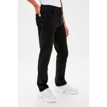 Black Straight Men's Jeans TMNAW20JE0002
