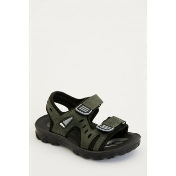 Khaki Boy Sandals With Velcro Velcro M2000A6.19SP.KH3