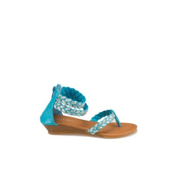 Blue Sandals for Girls 201593 000000000100137715