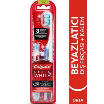 Optical White Whitener Tooth Pencil + 360 Toothbrush 8718951194144