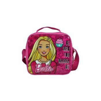 Barbie Pink Single Compartment Girl Lunch Bag - Hakan 96516 HKN96516