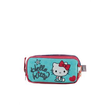 Pink Girl Children Pencil Case 89272