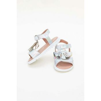 Baby Girls Silver Sandals 19SS0BG2033