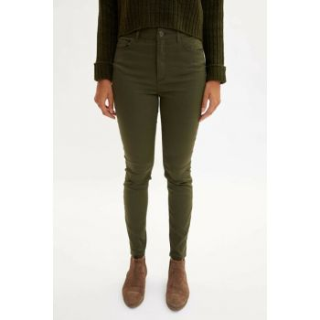 Women's Khaki Anna Super Skinny Fit Pants L2891AZ.19AU.KH211