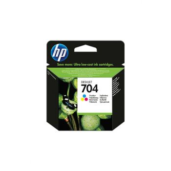 HP 704 Tri-color Ink Cartridge with 200-page Capacity CN693AE cn693ae