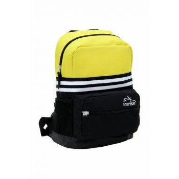 Yellow Black Color Unisex Backpack Plcan1631.019 PLCAN1631.019