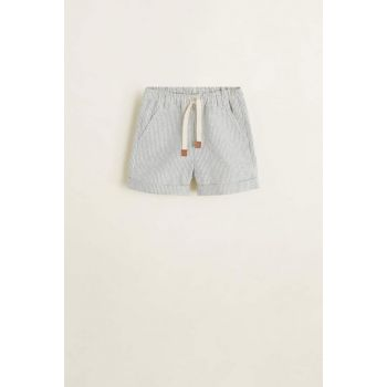 Off White Baby Boy Striped Cotton Shorts 53031040