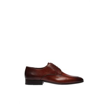 Men's Genuine Leather Brown Shoes 120130002090