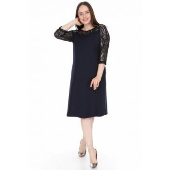 Women's Navy Blue Dress 1564