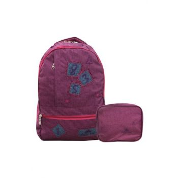 Women Pink Purple School Bag Gncu 1243 GNCU 1243