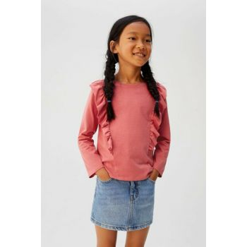 Pink Girl Frilly T-Shirt 53963735
