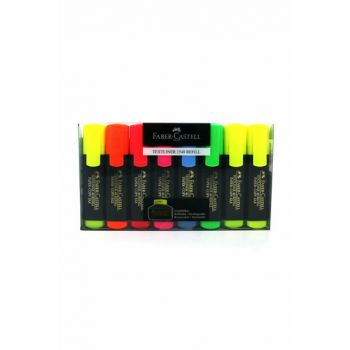 Faber Highlighter Pen 6 + 2 Li 154862-254863 37.07.079.017
