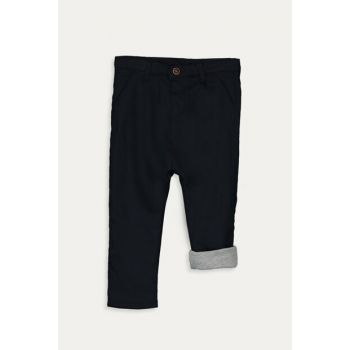 Baby Boy Dark Navy Peg Pants 9W3322Z1