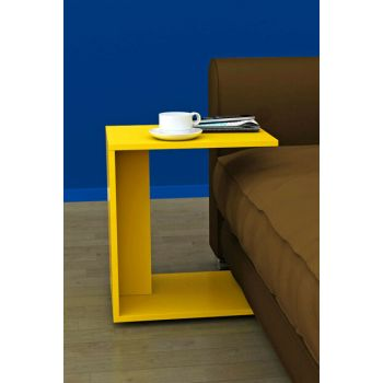 Multi-Purpose Wheel C Seat Table - Yellow SHP-109-HH-1