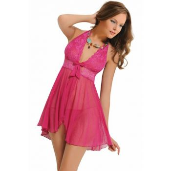Women Fuchsia Nightgown NBB 3890