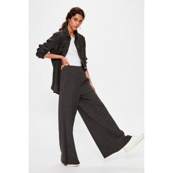 Anthracite Tricot Trousers TWOAW20PL0136