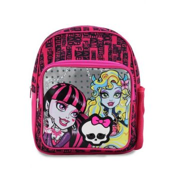 Pink Girl Child School Bag monsterhighschoolcolorful