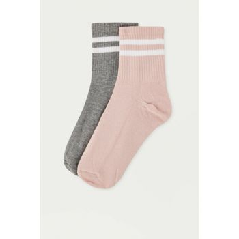 Women's Pink Sports Socks Pack 05893328