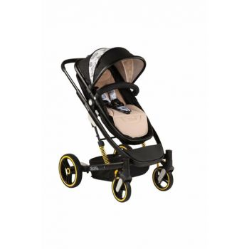 Kraft Leon Travel Baby Stroller Black / 1006872