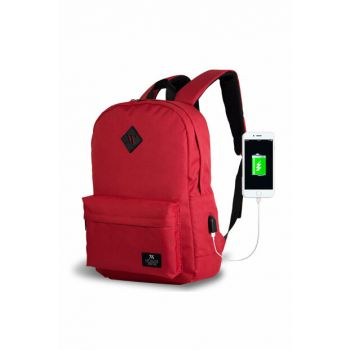 My Valice Smart Bag Specta Usb Charging Port Smart Backpack Red / MV8732