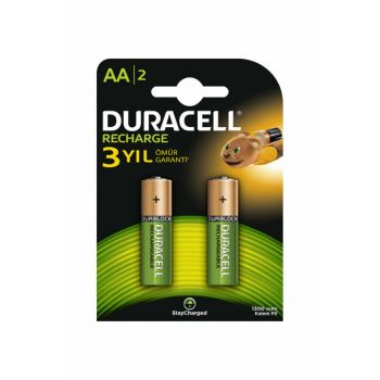 Rechargeable Basic AA Batteries, 2 Pieces 1300 mAh Battery 5000394107892
