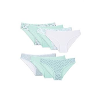 Women's Plus Size Briefs 7 Pack
