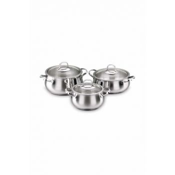 A1627 Korkmaz Mona Jr. 6 Piece Cookware Set