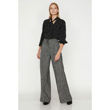 Women Black Trousers 9KAK48589PW