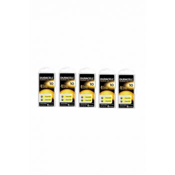 10, PR70 Headset Hearing Aid Battery Pack of 6 (Pack of 5) 4043752174793-5