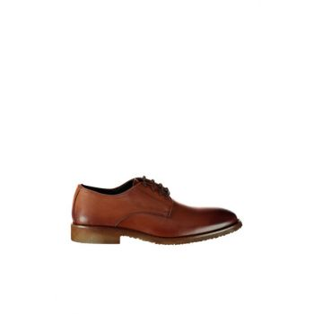 Genuine Leather Taba Men Classic Shoes 02AYH125130A370
