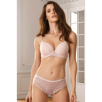 Women's Powder Rome Soft Push Up Regular Bra Set PIER4701