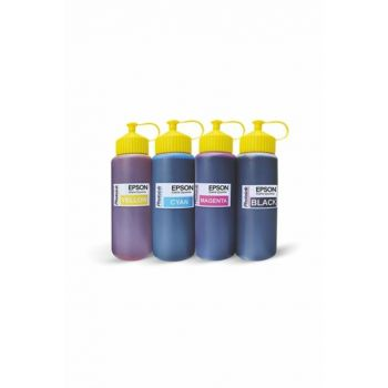 Photoink 4x500 ml Ink Set compatible with Epson Printers 200467200000007