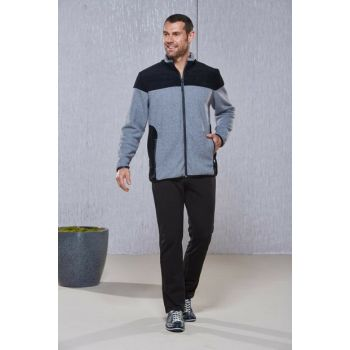 Men's Gray Two-Piece Tracksuit Set 20388 PJS20388